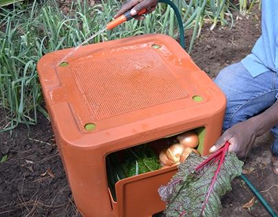 Umlimi Urban - off-grid food storage
