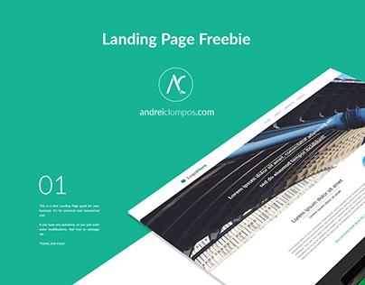 Landing Page | Free PSD file