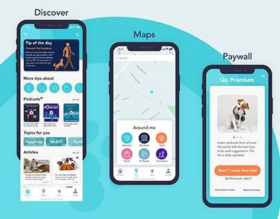 Designflows 2020 | Pets Lover App in 48h