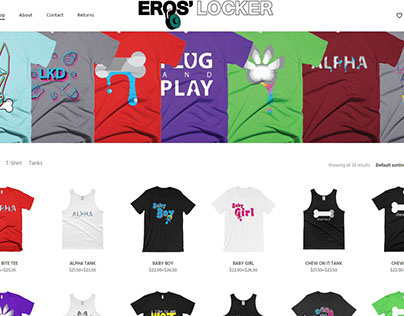 Eros' Locker Website