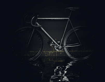 Black Fixed Gear Bicycle
