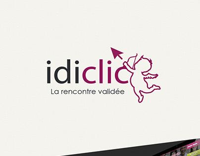 Identité Visuelle  Idiclic - Site de rencontres