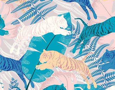 Tropi Tiger Pattern