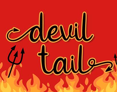 Devil Tail | Halloween Font
