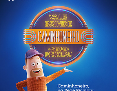 Vale-Brinde Caminhoneiro - Rede Pichilau