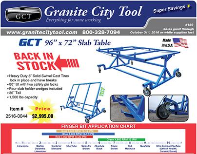 Granite City Tool Sept-Oct Fabrication Flyer 2016