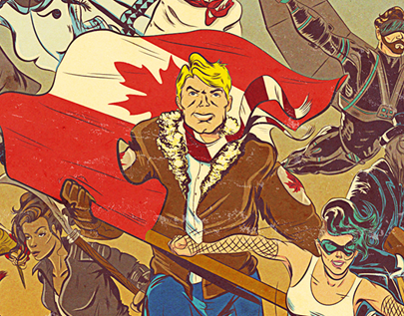 Epic Canadiana Cover Art
