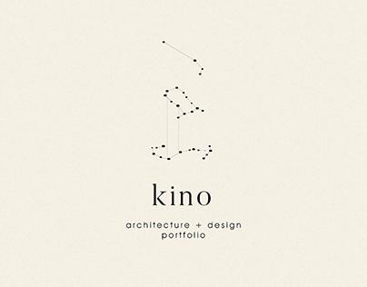 kino: architecture + design portfolio