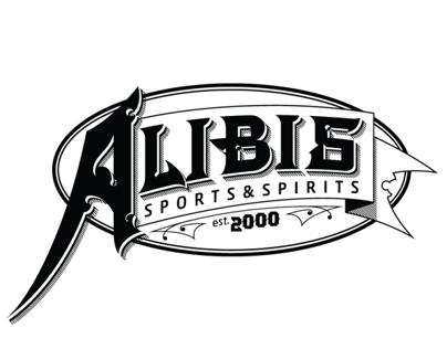 Alibis Sports&Spirits Sign/Logo
