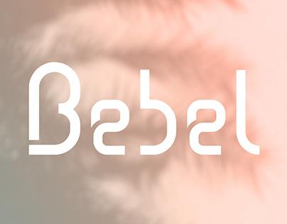 Typographie | Bebel