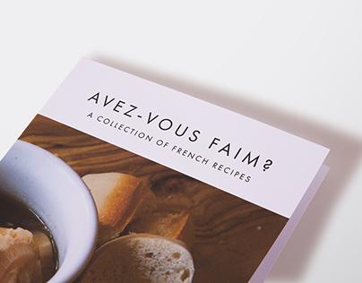 FRENCH RECIPE BOOK