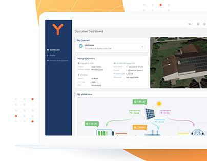 Web Application for Solar Energy Management