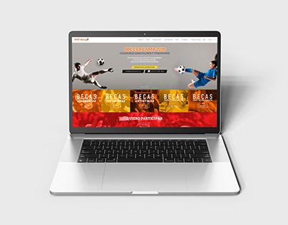 Sportmasters - Diseño de página web