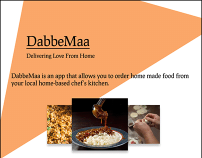 DabbeMaa- Food delivery app
