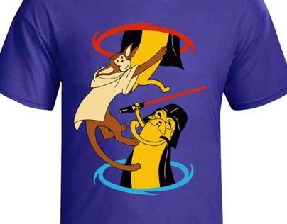 ThinkGeek t-shirt design