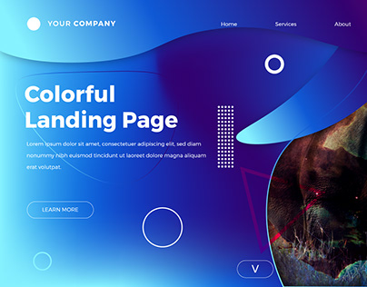 Landing Page - Free Template with Tutorial