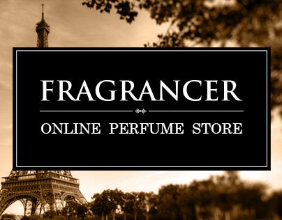Online store luxury perfumes.