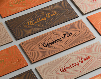 Wedding Pass Set
