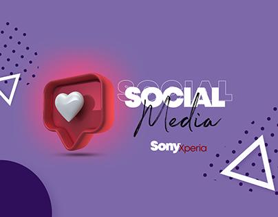 Social Media Sony Xperia