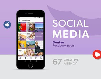 Dentya - Social Media
