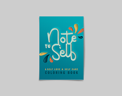 Note to Self Coloring Book