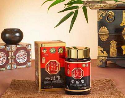 3 loại sâm Hàn Quốc: Bạch sâm, Hồng sâm và Hắc sâm, loạ