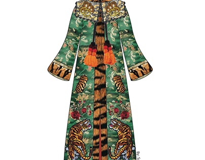 Gucci Inspired A/W 2018 Coat