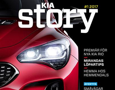 Kia Story Magazine, Kia Motors Sweden