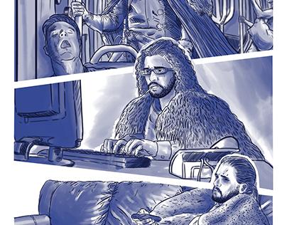 Jon Snow Tunnel TeleVision