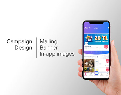 Campaign Mailing / Banner / In-app image Design