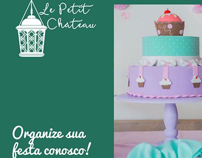Arte para carrossel de anúncio Le Petit Château