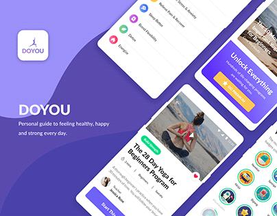 DoYou - User Interface Breakdown