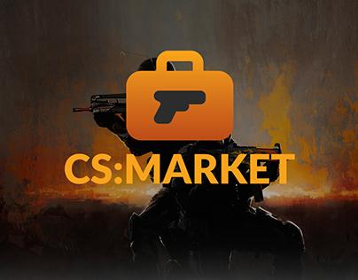 website CS:GO Market