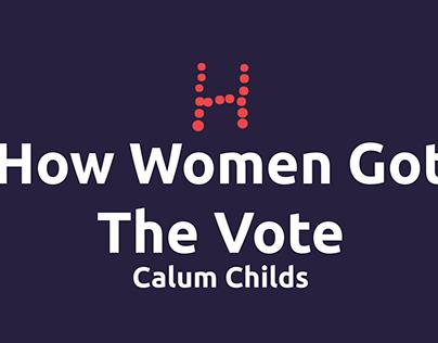How Women Got The Vote