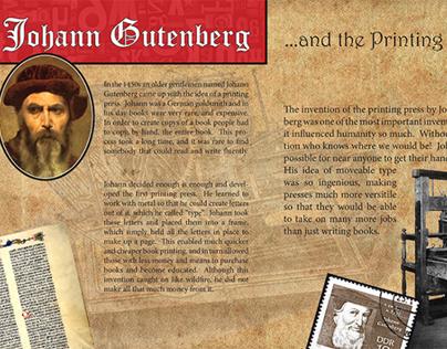 Johann Gutenberg & the Printing Press