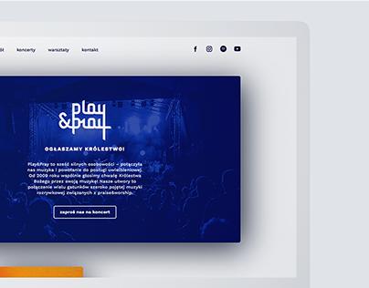 WEB DESIGN | Play&Pray