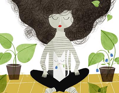 Magazine illustration · Pelos!
