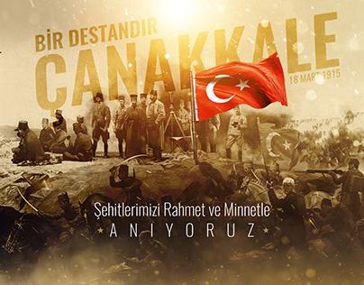 18 Mart Çanakkale Zaferi Sosyal Medya Tasarımları