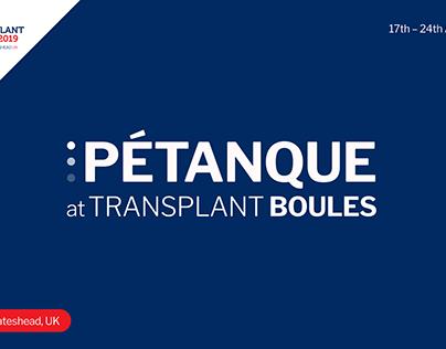 Pétanque the World Transplant Games 2019