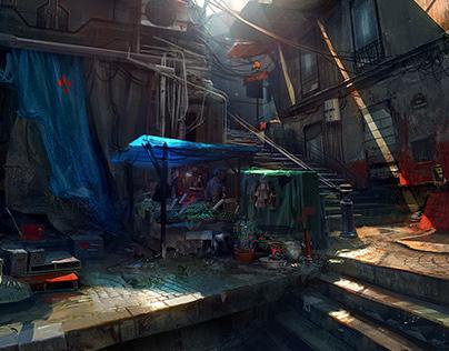 Remember Me | Paris 2084 Slum par 2