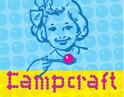 Campcraft - A Layered OpenType font.