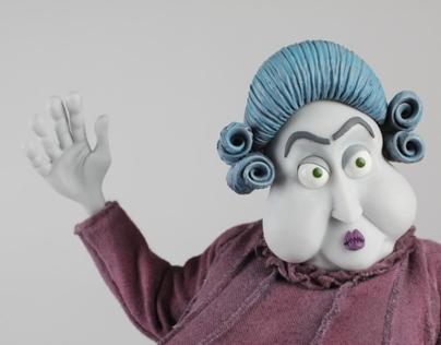 Stop Motion Animation Puppet - Lady Whittington