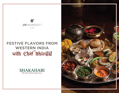 Festive Flavors from Western India - JW Marriott Pune