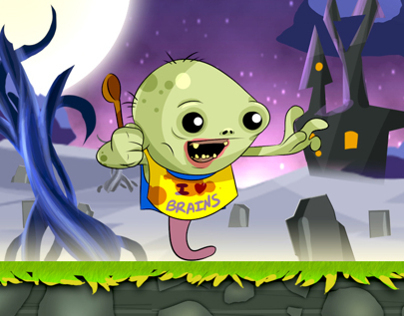Ninja Zombie Crusher - IOS