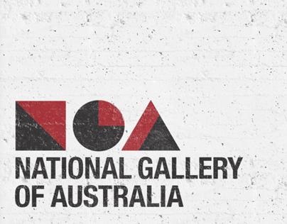 National Gallery of Australia Identity