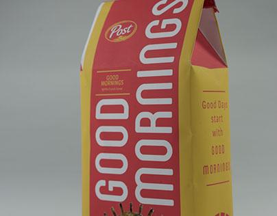 Packaging Redesign: Good Morenings Cereal