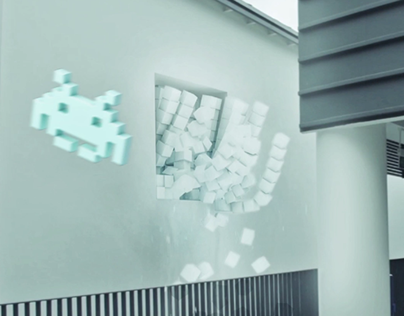 VFX Inspired By Pixels