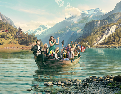 Alt for Norge - key visual