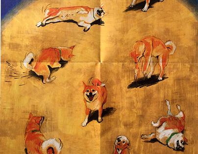 Shiba Inu Poster   DOGS Magazine