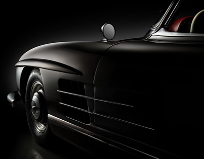 1961 Mercedes-Benz 300SL (Private collector)